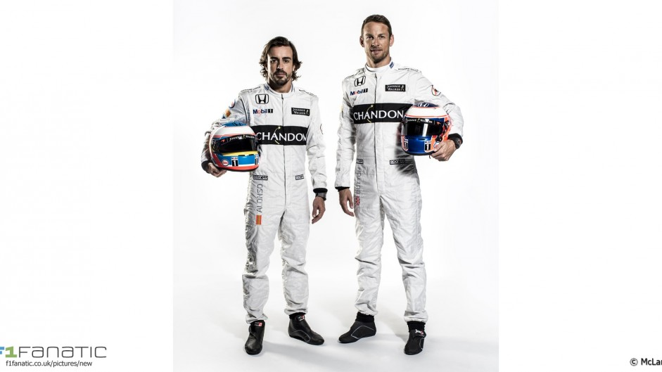Fernando Alonso, Jenson Button, McLaren, 2016