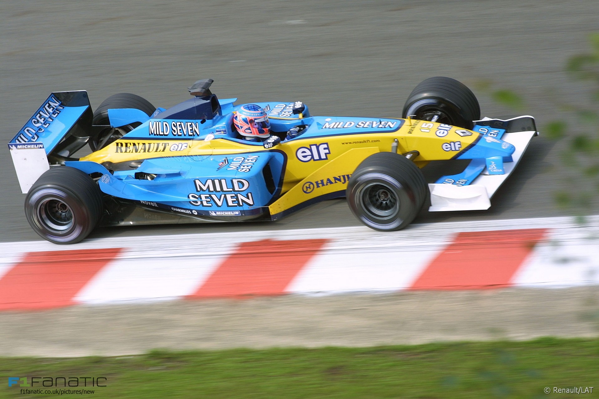Jenson Button, Renault, Spa-Francorchamps, 2002