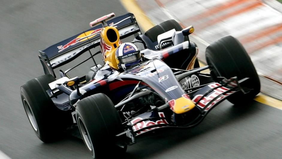 David Coulthard, Red Bull, Albert Park, Melbourne, 2007