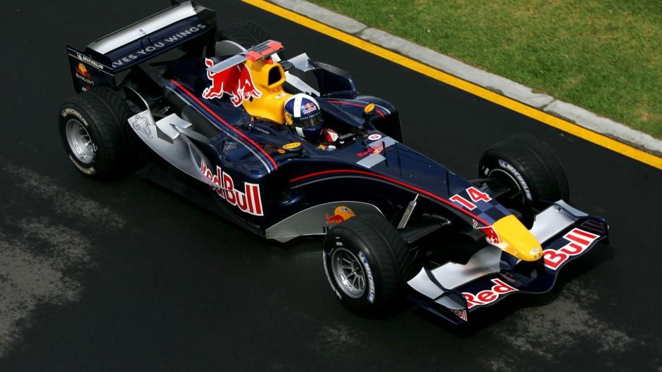 David Coulthard, Albert Park, Melbourne, Red Bull, 2005
