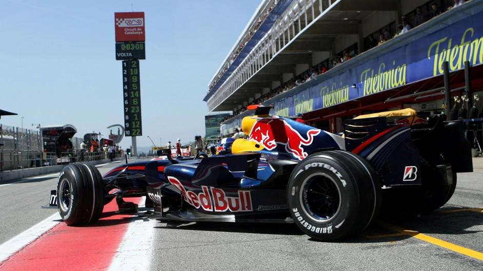 David Coulthard, Red Bull, Circuit de Catalunya, 2007
