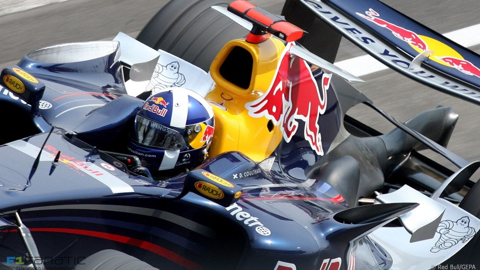 David Coulthard, Red Bull, Indianapolis, 2006