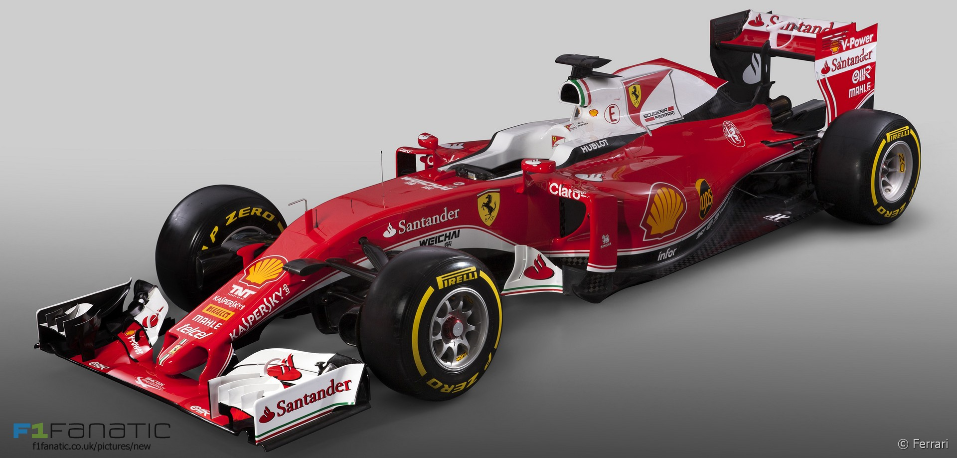 Ferrari Sf 16h 183 F1 Fanatic