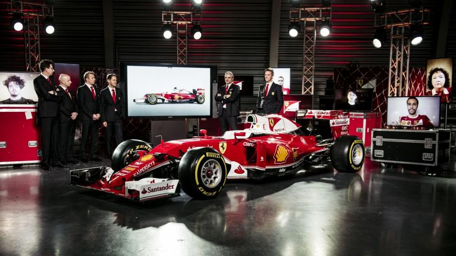 Ferrari SF16-H launch, 2016