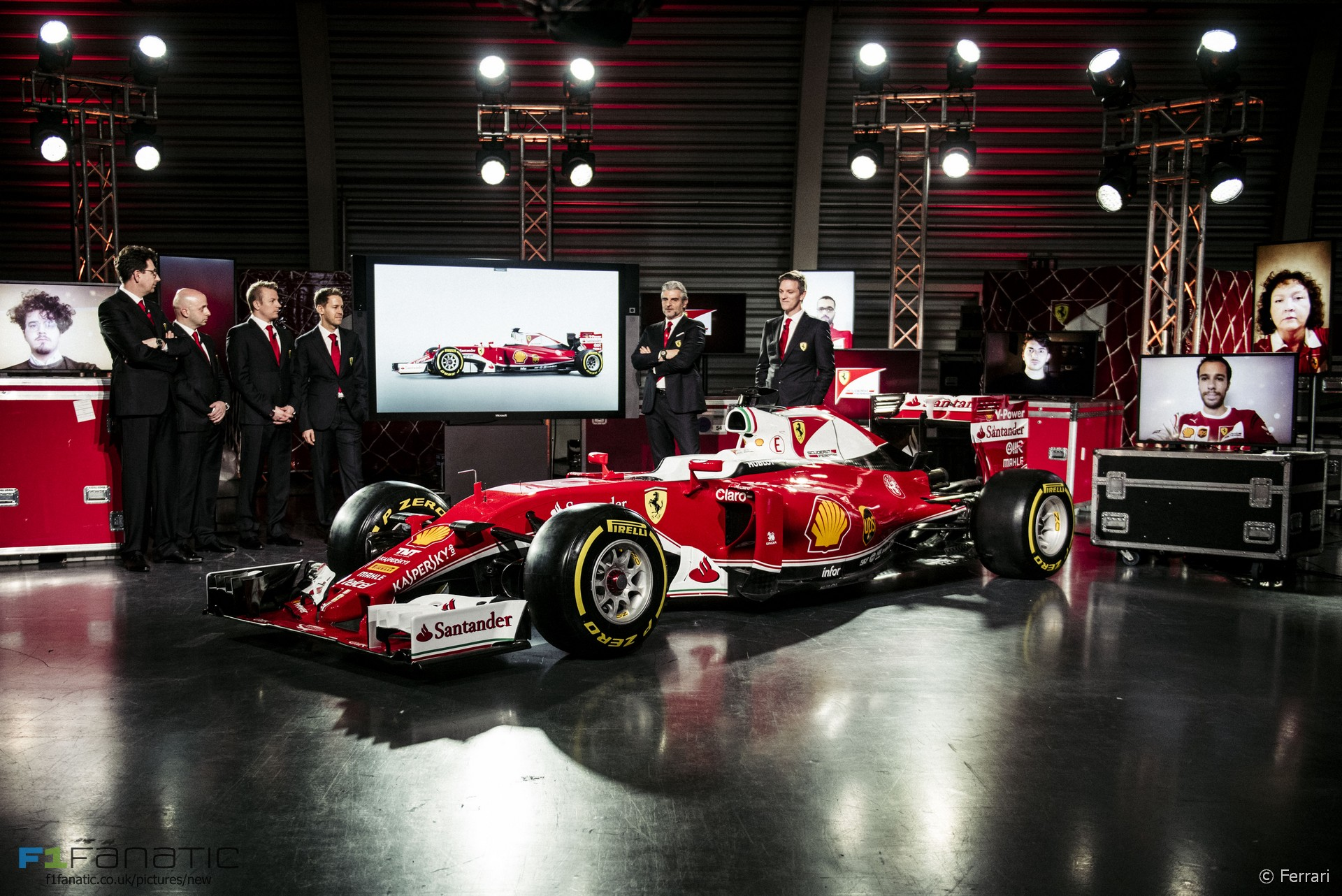 Ferrari SF16-H launch, 2016