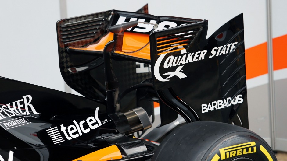 Force India VJM09, 2016