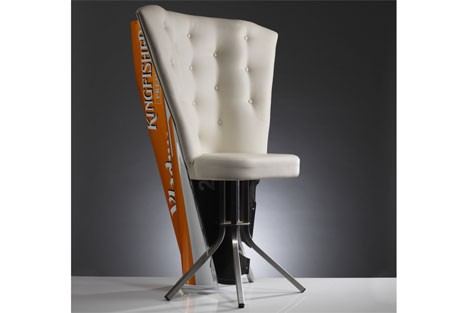 Force India engine cover chair