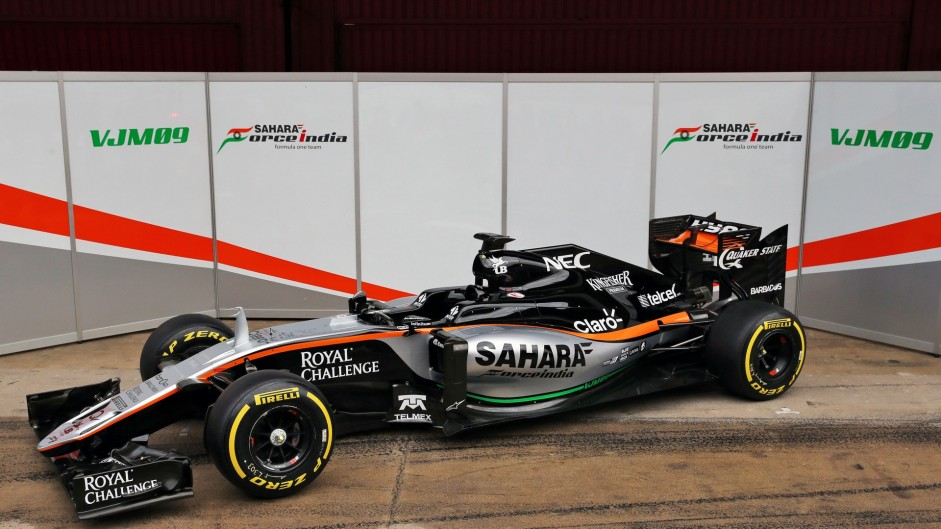 Force India VJM09: First pictures revealed