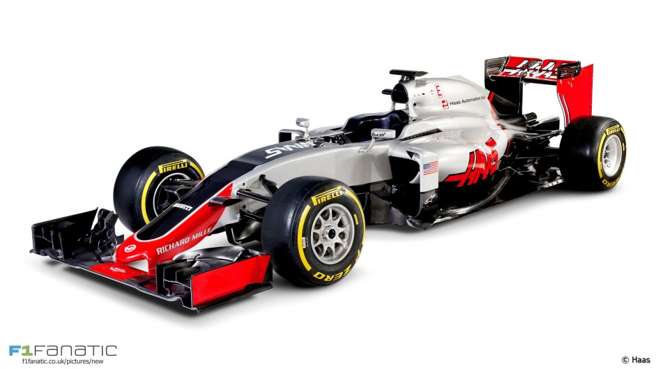 Haas VF-16: First pictures revealed