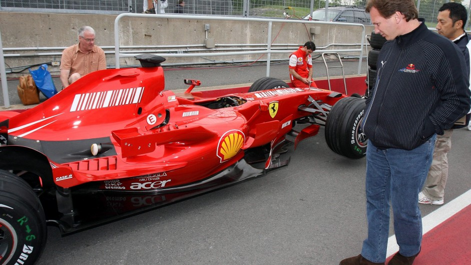 Christian Horner, Red Bull, Circuit Gilles Villeneuve, Montreal, 2007