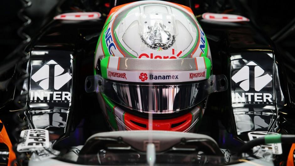 Alfonso Celis, Force India, Circuit de Catalunya, 2016