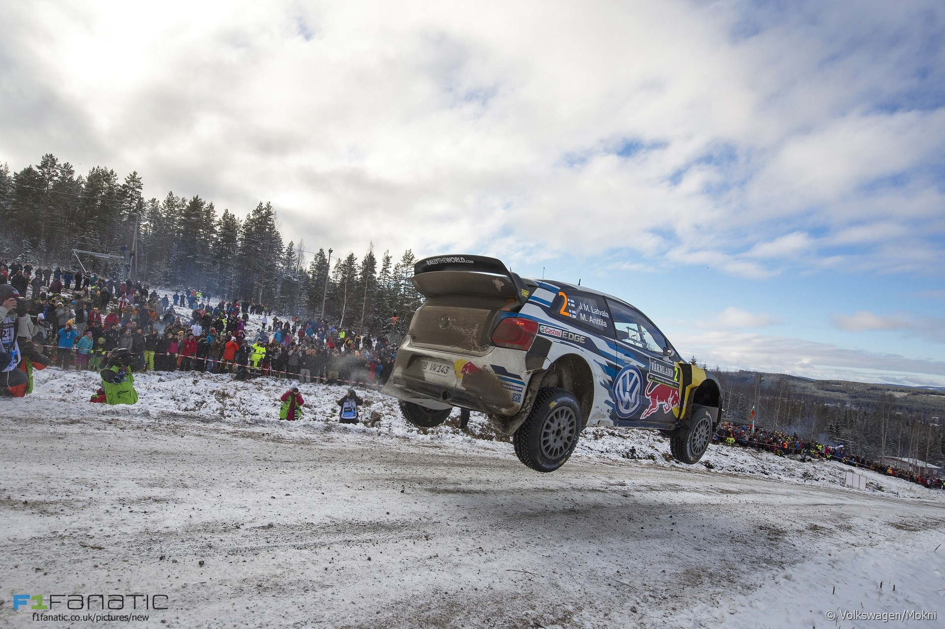 Jari-Matti Latvala, Volkswagen, WRC, Sweden, 2016