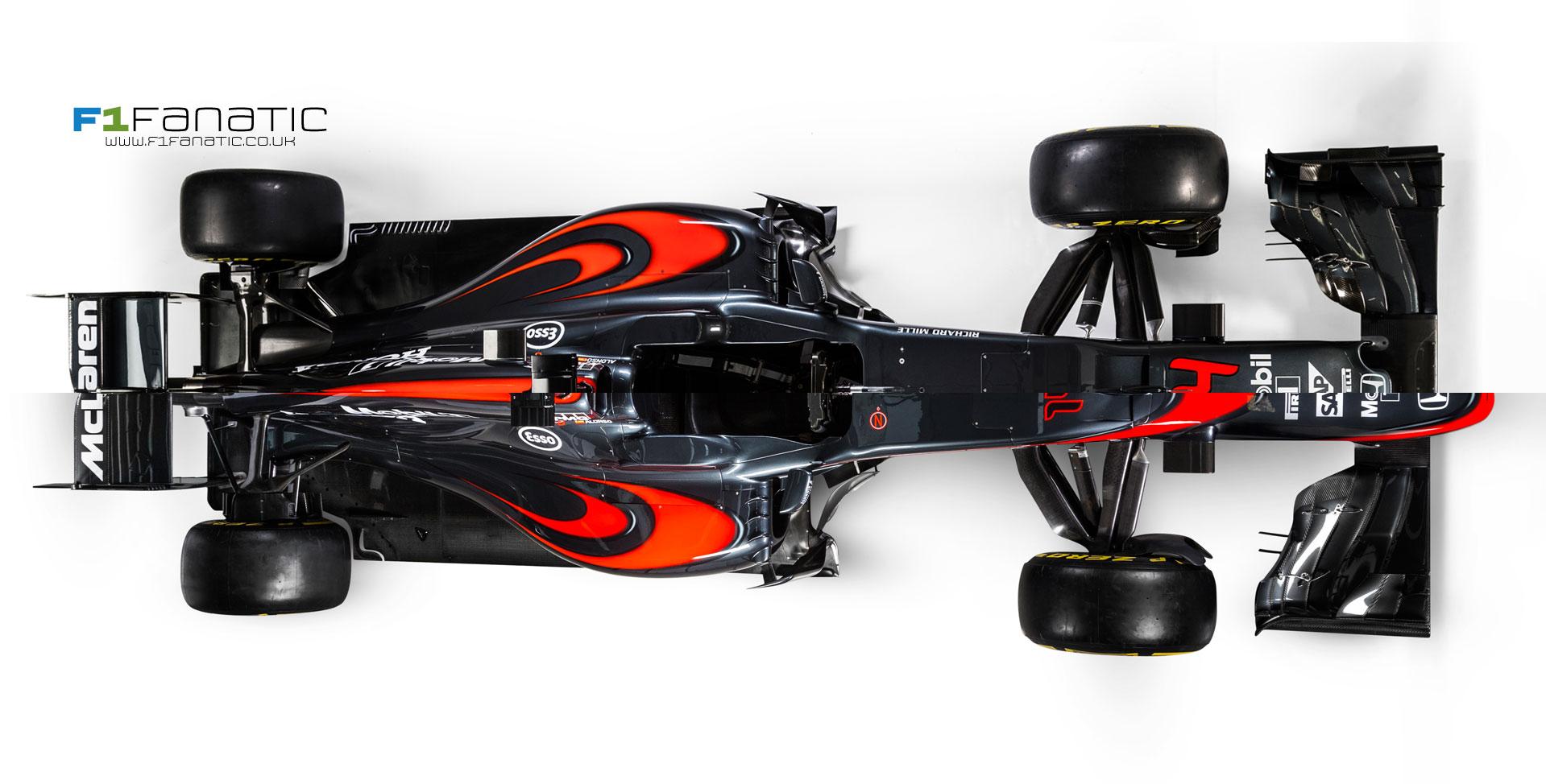 McLaren MP4-31 and MP4-30 comparison