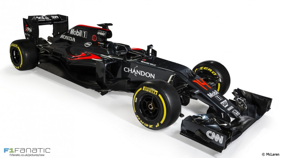 McLaren MP4-31: First pictures revealed