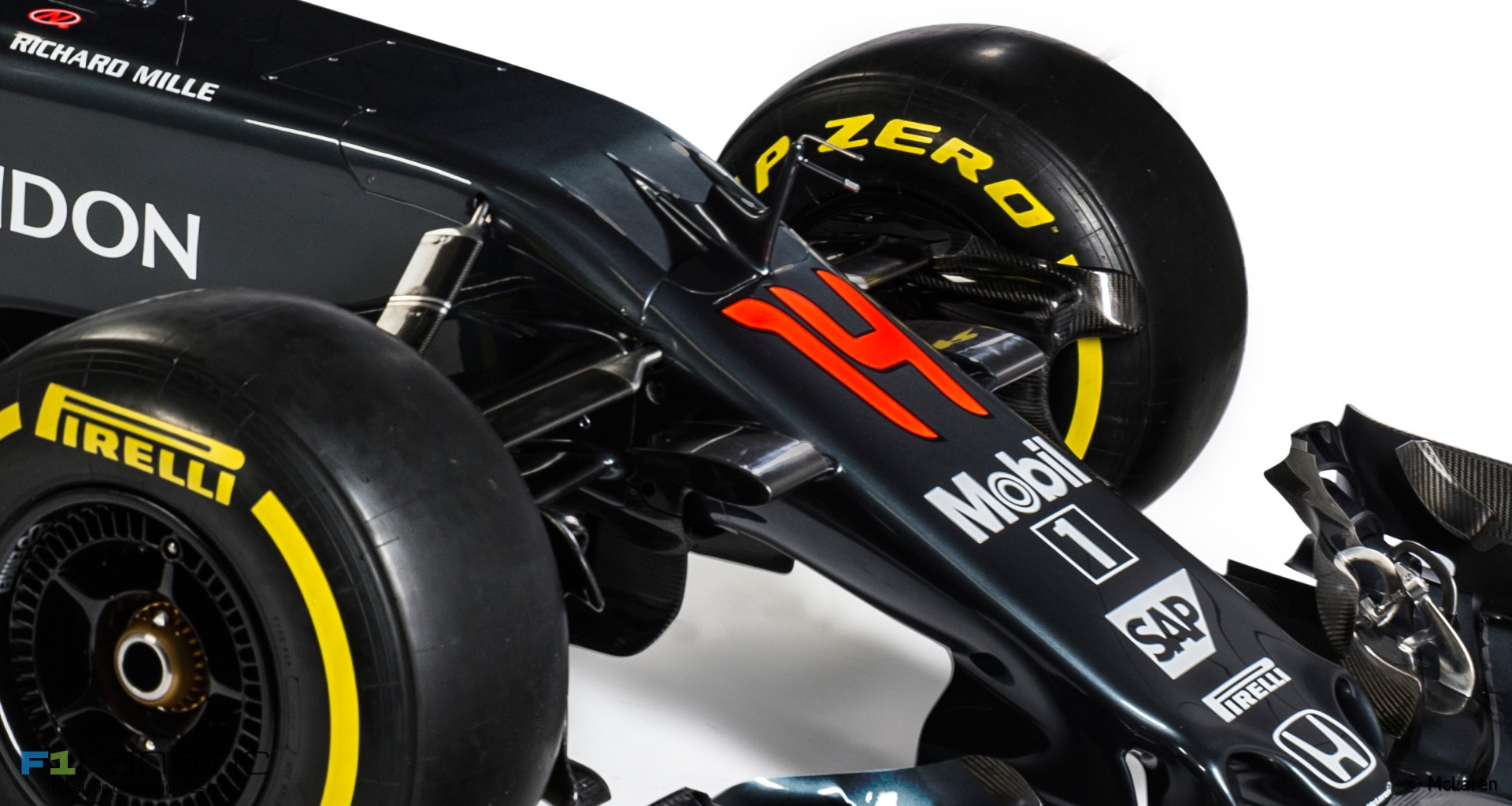 McLaren-Honda MP4-31, 2016