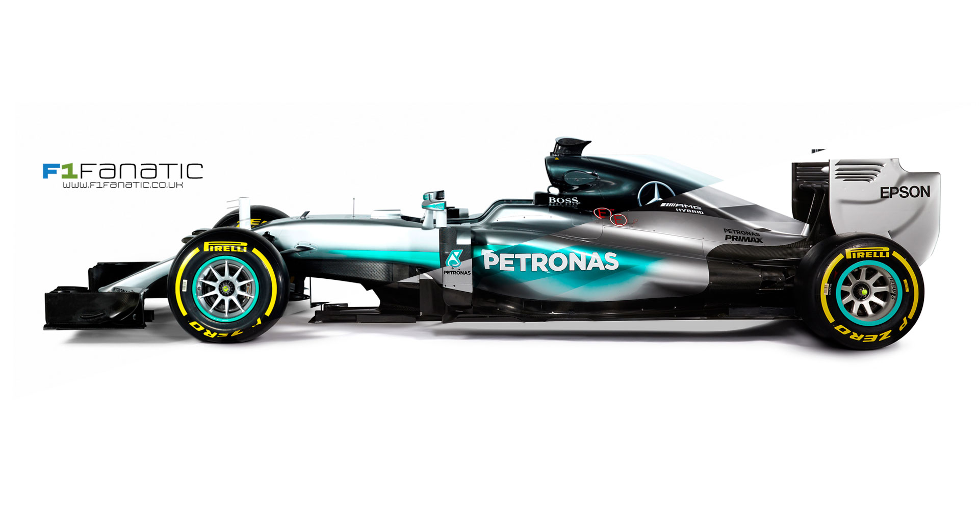 Mercedes W07 and W06 comparison