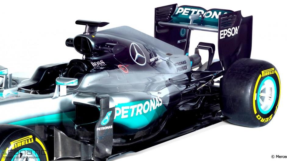 Mercedes W07, 2016