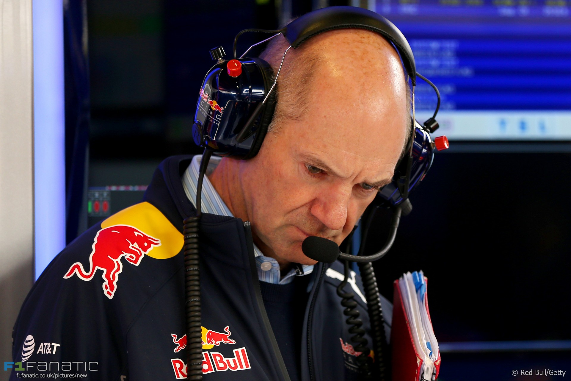 Adrian Newey, Red Bull, Circuit de Catalunya, 2016