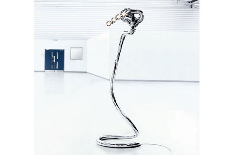 Red Bull exhaust pipe lamp