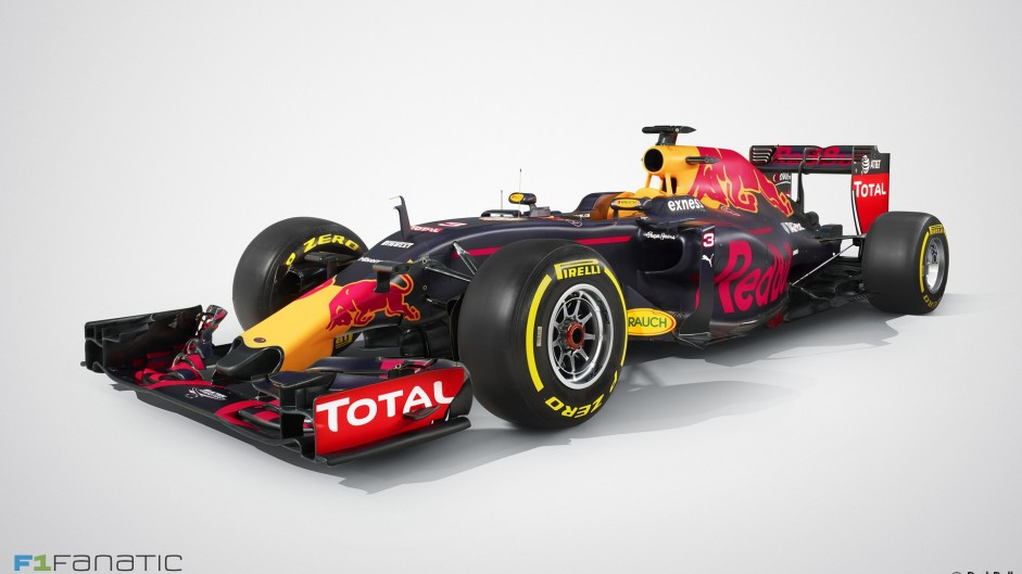 Red Bull RB12: First pictures revealed