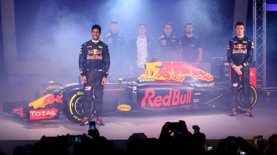 Red Bull 2016 livery