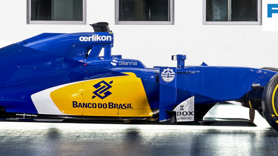 Compare Sauber's new C35 with their 2015 car