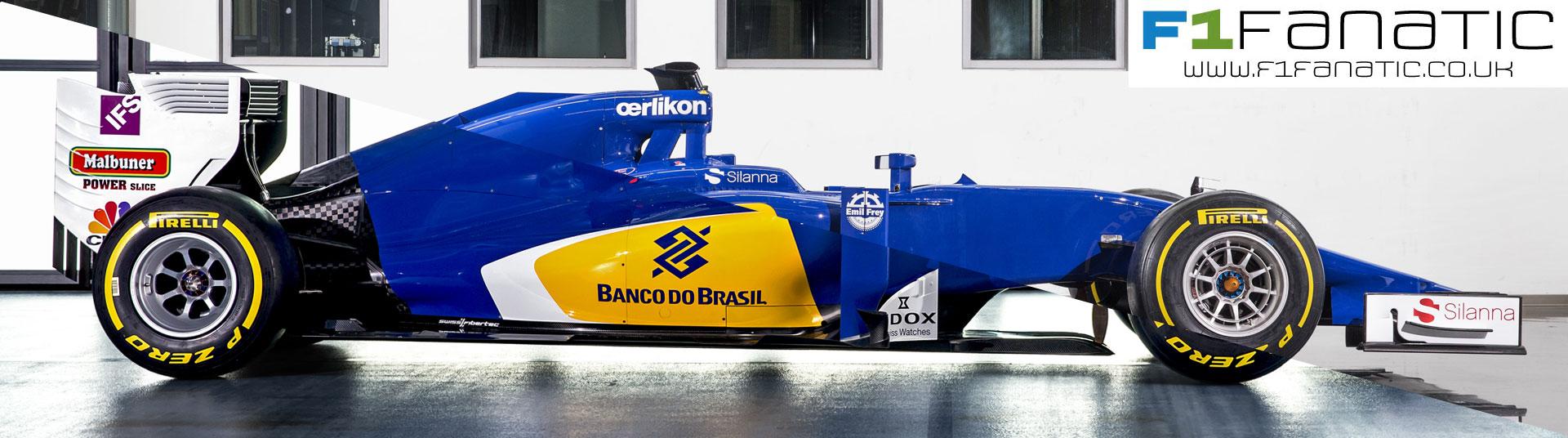 Sauber 2016 and 2015 car comparison