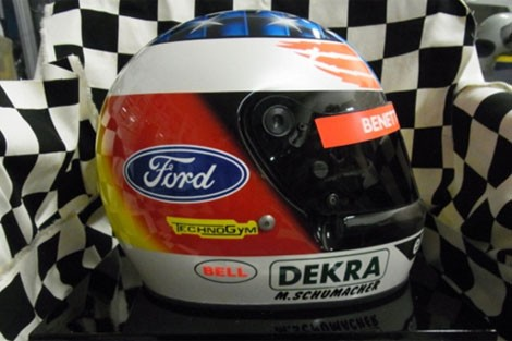 Michael Schumacher 1994 replica helmet
