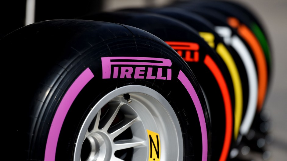 New Pirelli tyres to be tested on Friday