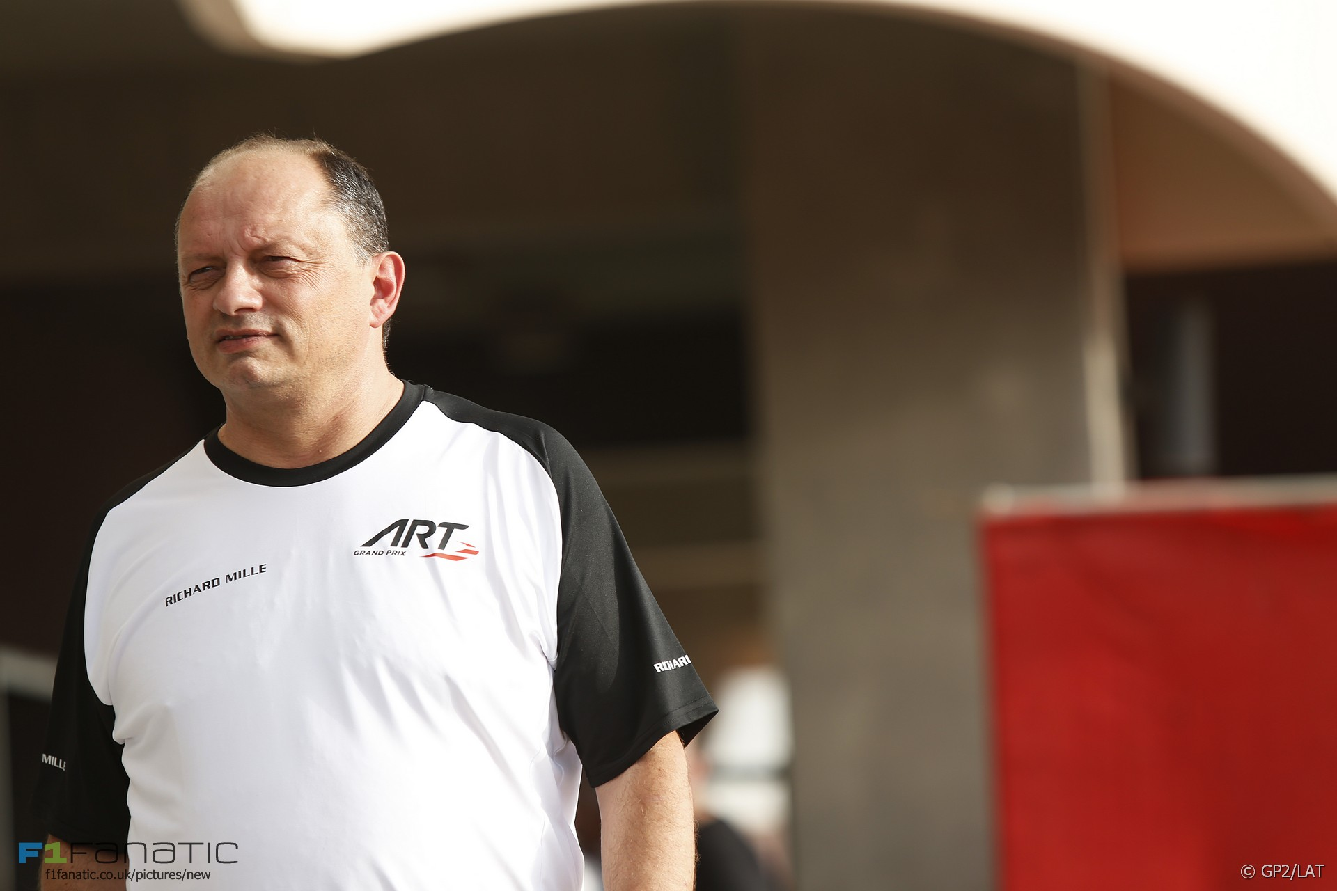 Frederic Vasseur, ART, GP2, 2015