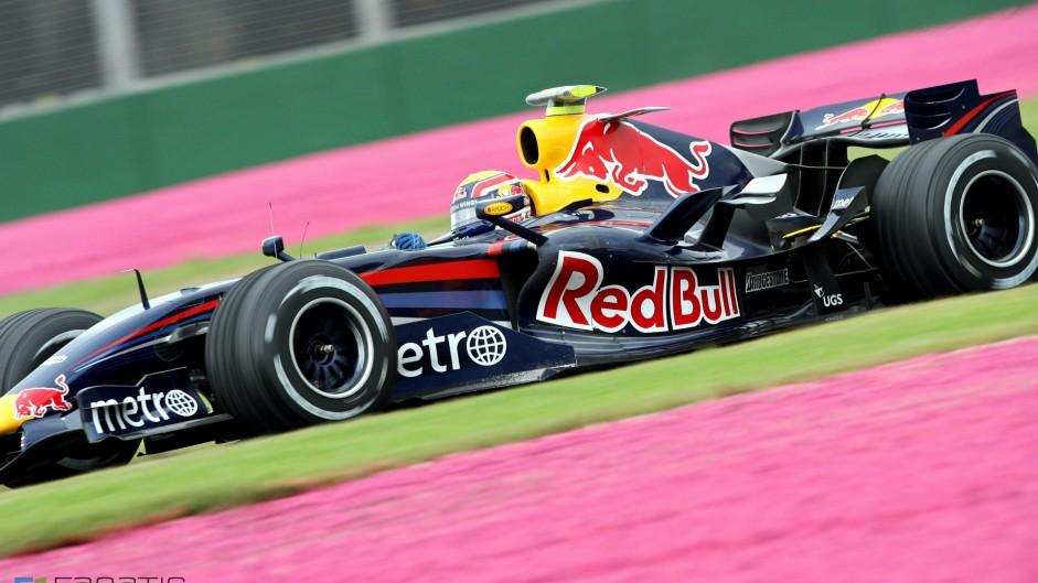 Mark Webber, Red Bull, Albert Park, Melbourne, 2007