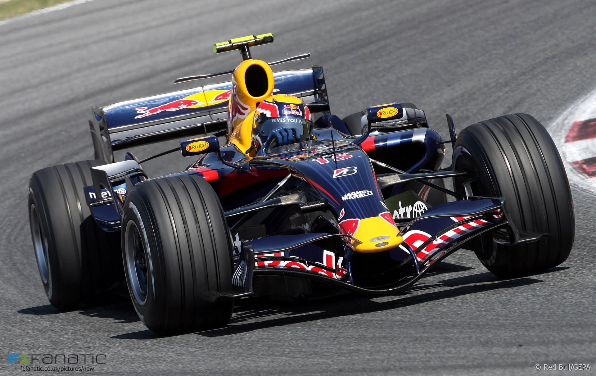 Mark Webber, Red Bull, Circuit de Catalunya, Barcelona, 2007