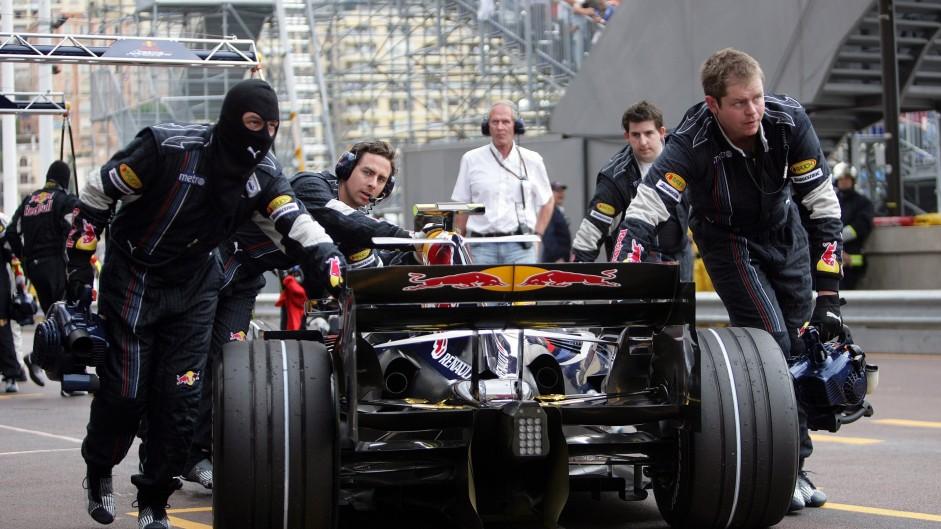 Red Bull, Monte-Carlo, Monaco, 2007
