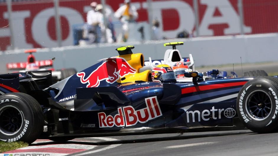 Mark Webber, Red Bull, Circuit Gilles Villeneuve, Montreal, 2007