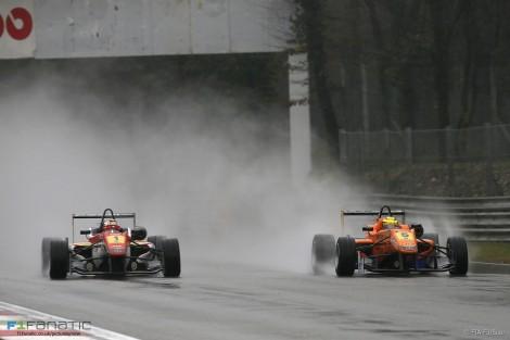 Raffaele Marciello, Pascal Wehrlein, European Formula Three, Monza, 2013