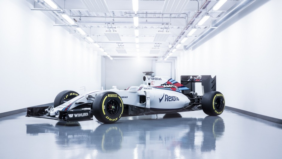 Williams FW38: First pictures revealed