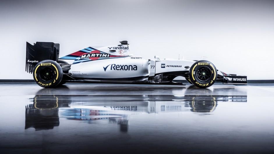 Williams FW38, 2016