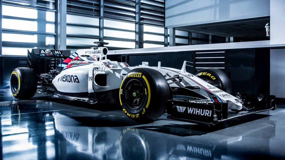 Compare Williams' new FW38 with their 2015 car