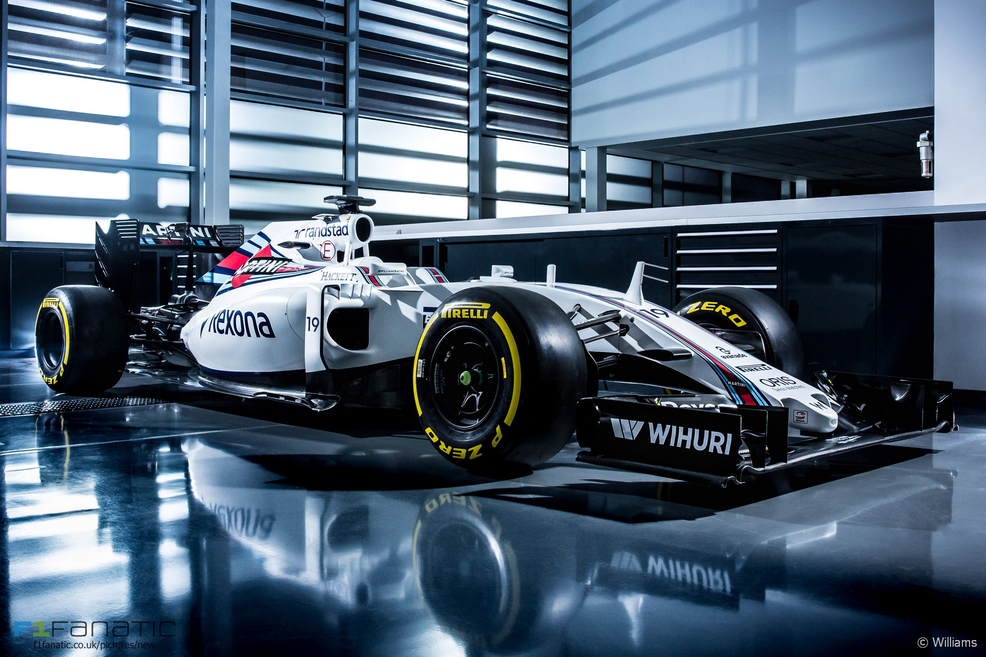 Williams FW38, 2016