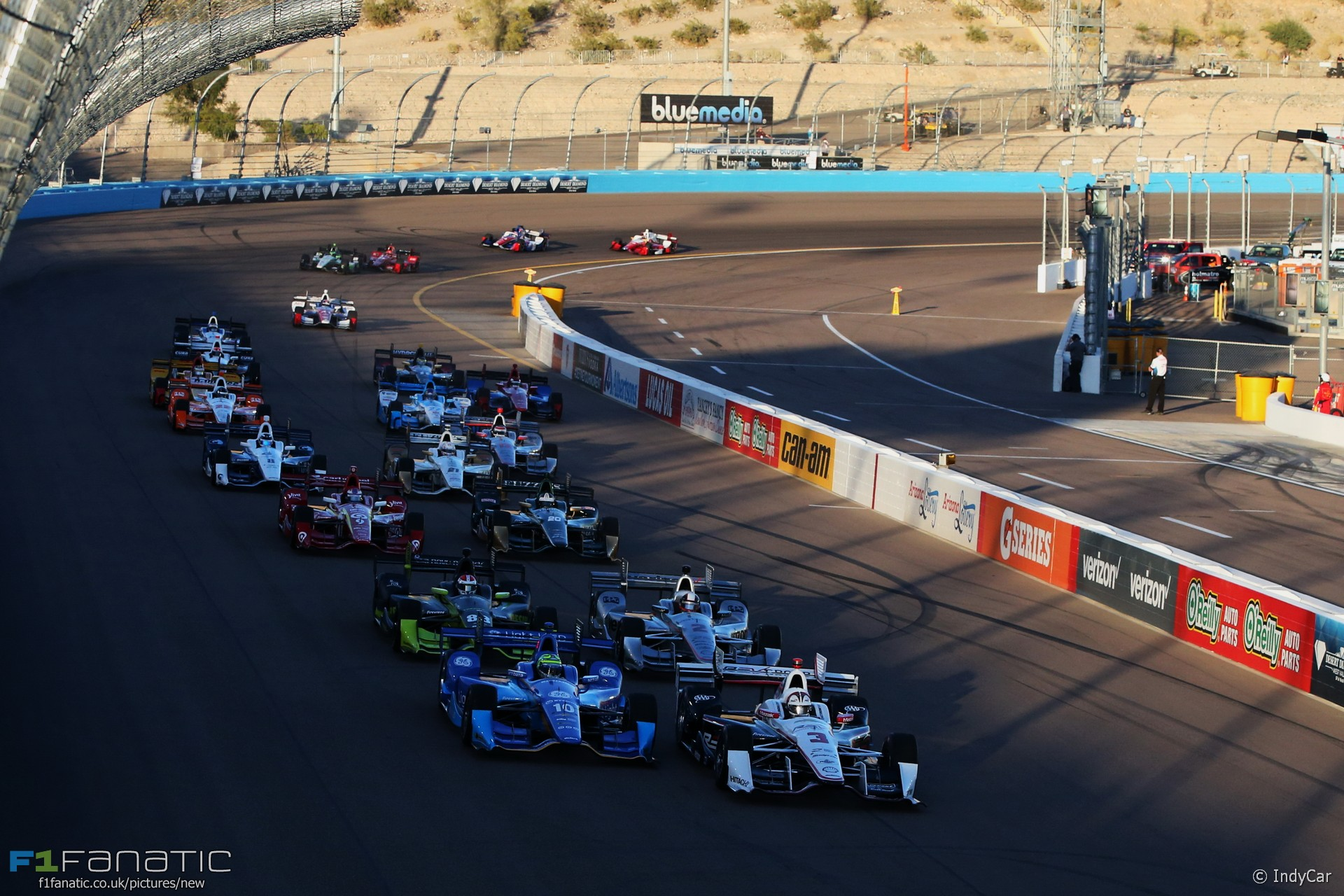 Start, IndyCar, Phoenix, 2016