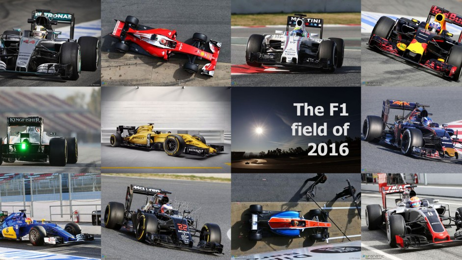 Which team has the best-looking car for 2016?