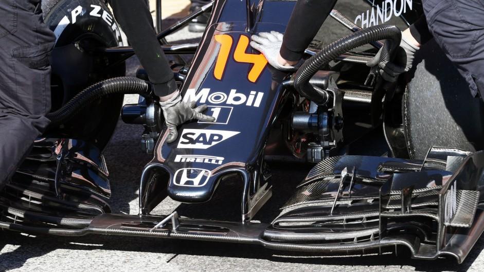 McLaren, Circuit de Catalunya, 2016