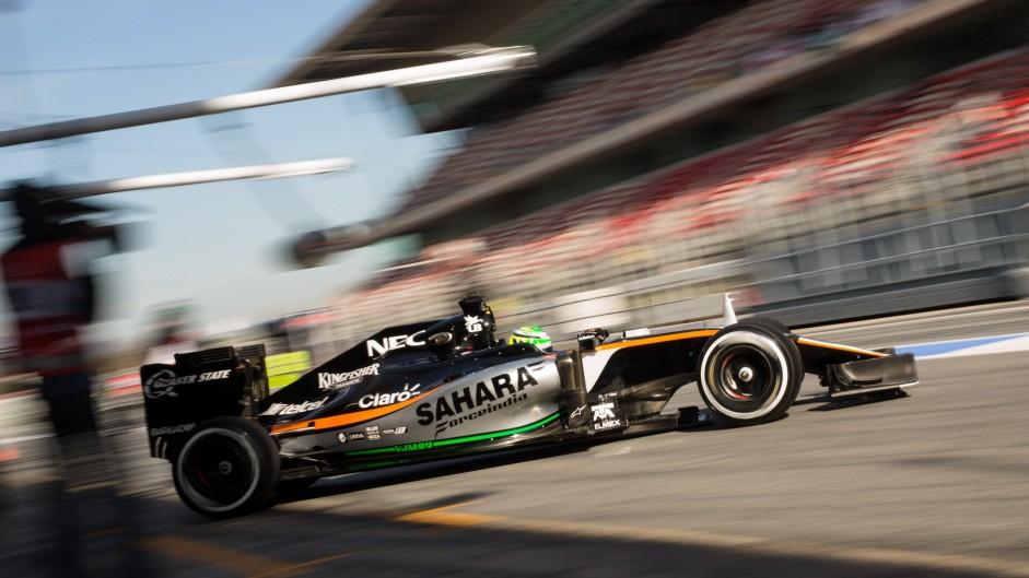 Nico Hulkenberg, Force India, Circuit de Catalunya, 2016