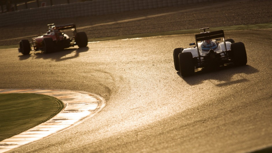 Kimi Raikkonen, Valtteri Bottas, Circuit de Catalunya, 2016