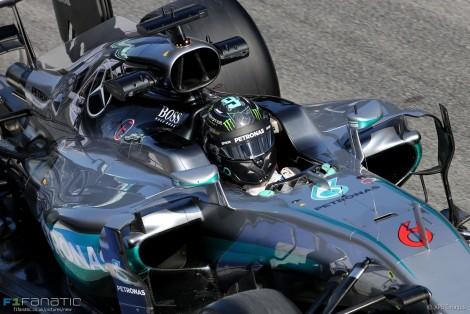 Nico Rosberg, Mercedes, Circuit de Catalunya, 2016