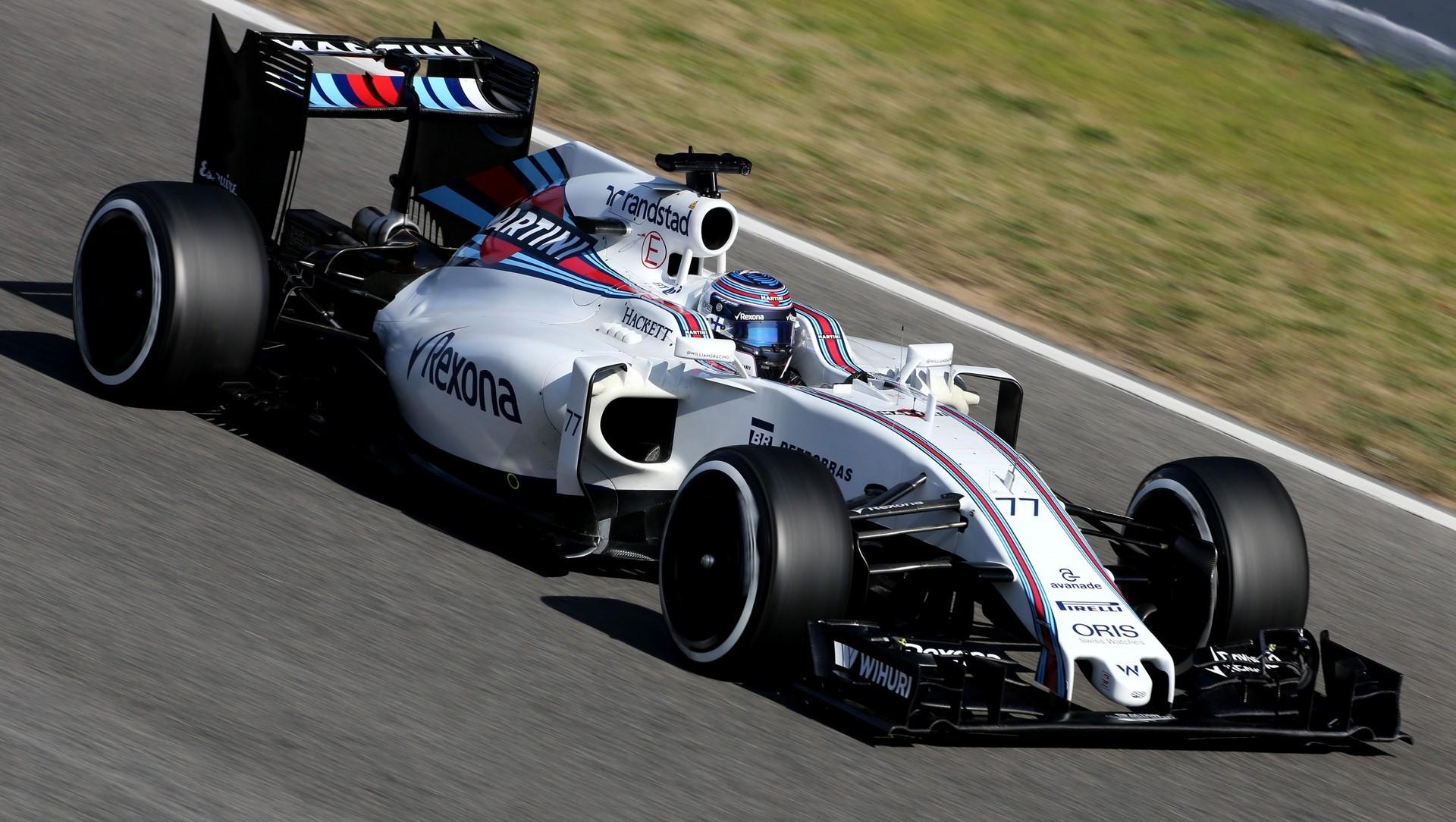 Williams F1 Barcelona Second F1 Test 2016