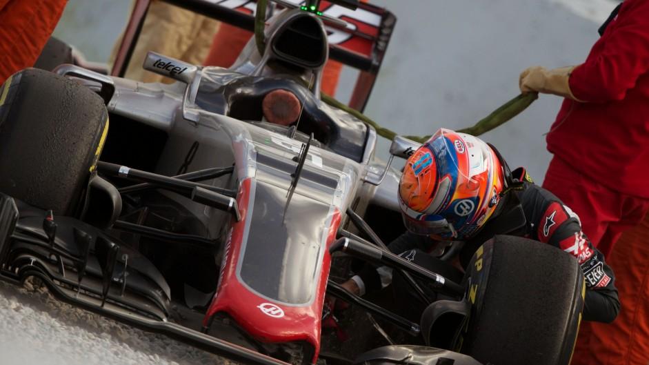 Brake-by-wire problems hamper Haas
