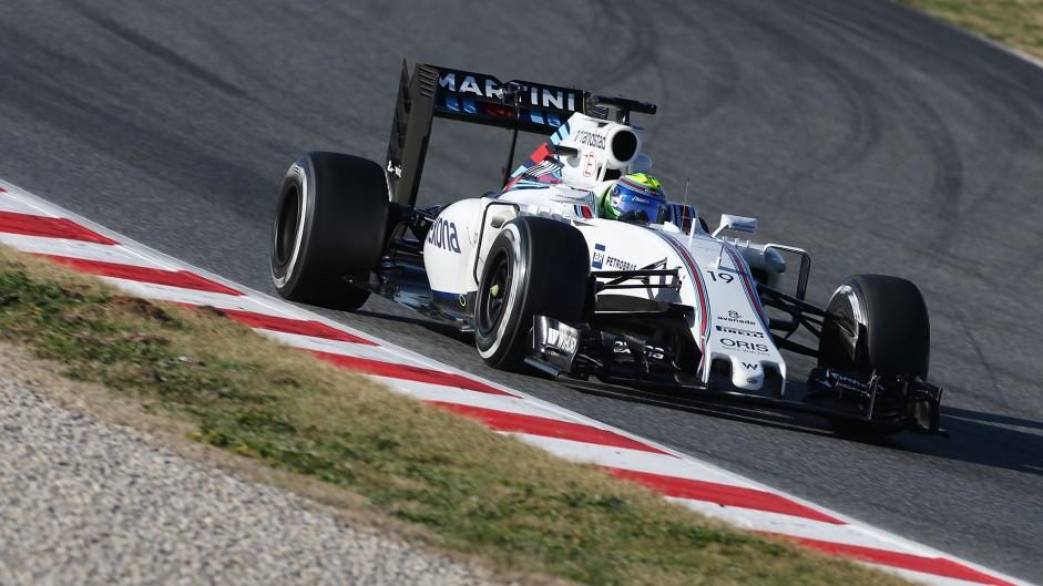 Felipe Massa, Williams, Circuit de Catalunya, 2016