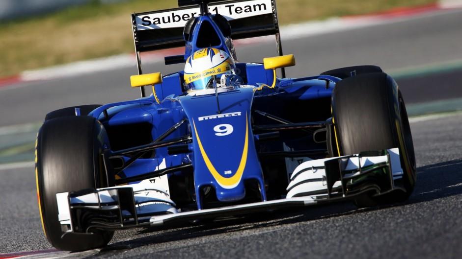 Marcus Ericsson, Sauber, Circuit de Catalunya, 2016