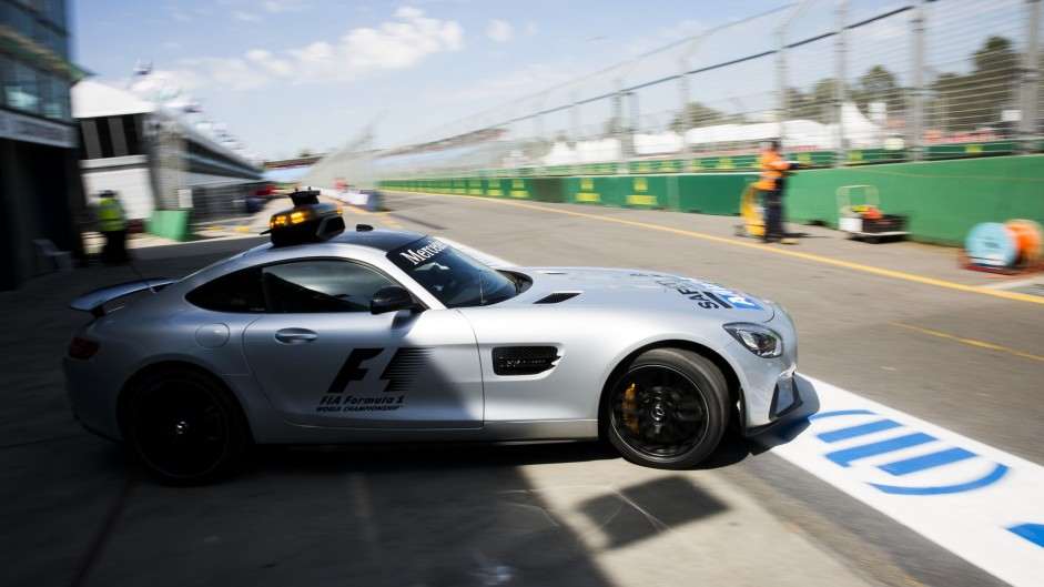 Safety Car, Albert Park, 2016